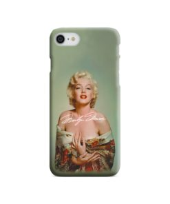 Marilyn Monroe Poster Signature for iPhone 7 Case Cover