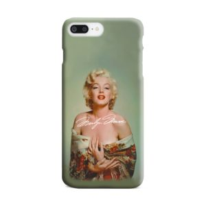 Marilyn Monroe Poster Signature for iPhone 7 Plus Case