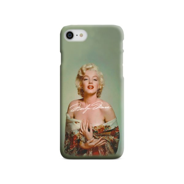 Marilyn Monroe Poster Signature for iPhone 8 Case