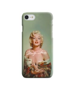 Marilyn Monroe Poster Signature for iPhone SE (2020) Case Cover