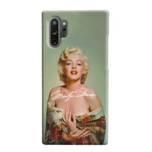 Marilyn Monroe Poster Signature for Samsung Galaxy Note 10 Plus Case