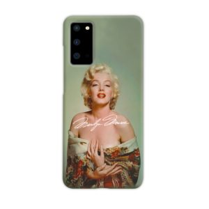 Marilyn Monroe Poster Signature for Samsung Galaxy S20 Case Cover