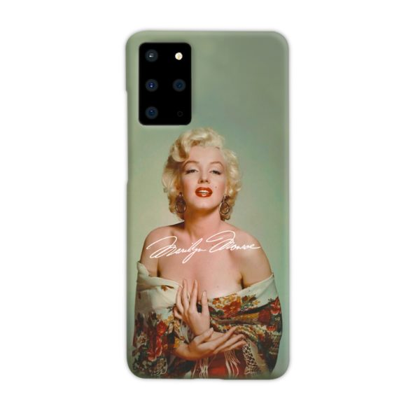 Marilyn Monroe Poster Signature for Samsung Galaxy S20 Plus Case Cover