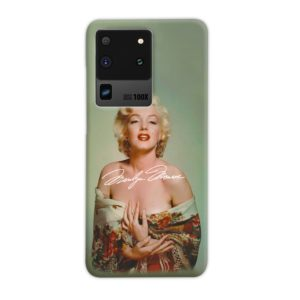 Marilyn Monroe Poster Signature for Samsung Galaxy S20 Ultra Case Cover