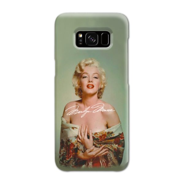 Marilyn Monroe Poster Signature for Samsung Galaxy S8 Case Cover