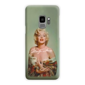 Marilyn Monroe Poster Signature for Samsung Galaxy S9 Case