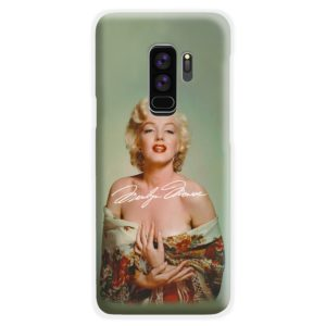 Marilyn Monroe Poster Signature for Samsung Galaxy S9 Plus Case Cover