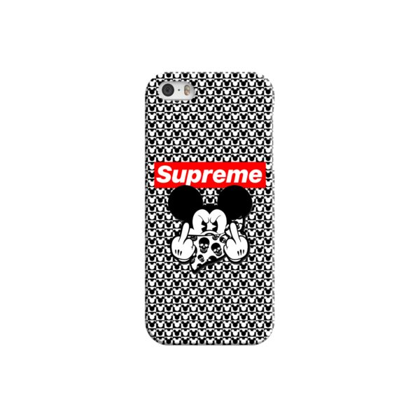 Mickey Mouse Gangster Supreme iPhone 5 Case