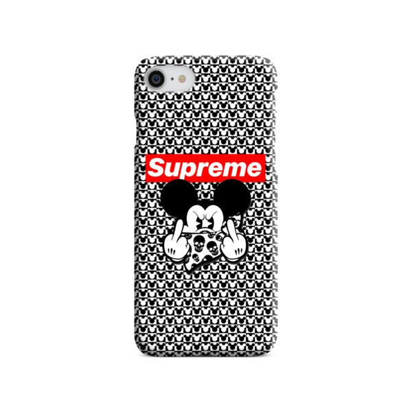 Mickey Mouse Gangster Supreme iPhone SE (2020) Case