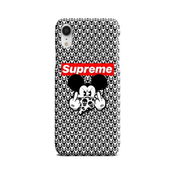 Mickey Mouse Gangster Supreme iPhone XR Case