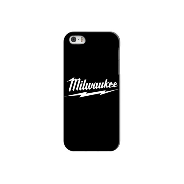 Milwaukee Tool Black and White Logo iPhone 5 Case