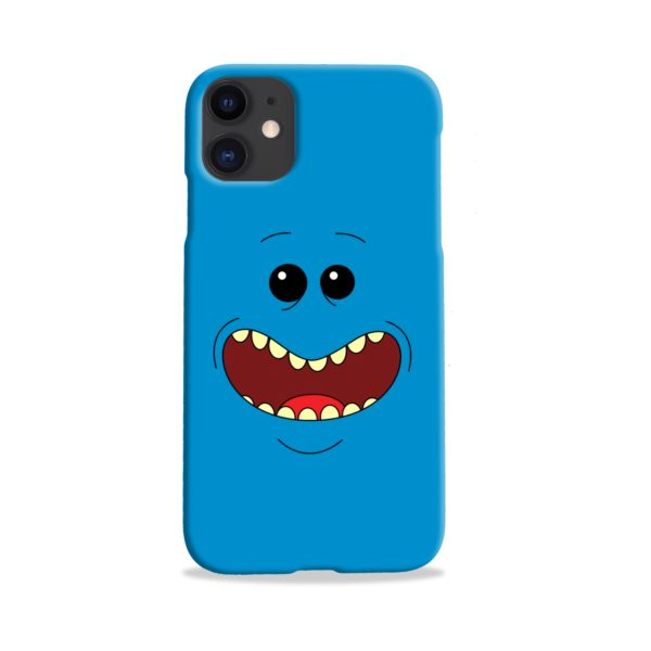 Mr Meeseeks Face for iPhone 11 Case