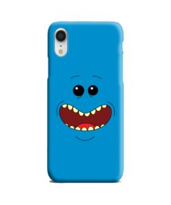 Mr Meeseeks Face for iPhone XR Case Cover