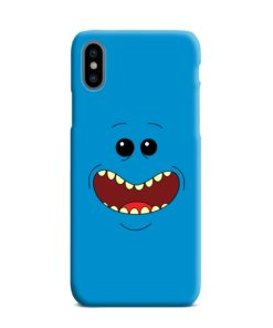 Mr Meeseeks Face for iPhone XS Max Case