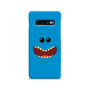 Mr Meeseeks Face for Samsung Galaxy S10 Case Cover