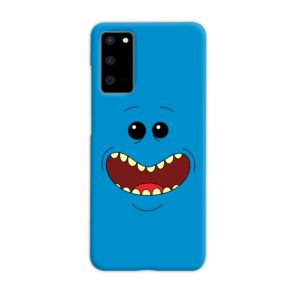 Mr Meeseeks Face for Samsung Galaxy S20 Case Cover