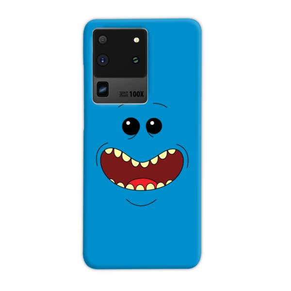 Mr Meeseeks Face for Samsung Galaxy S20 Ultra Case Cover