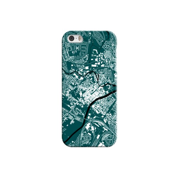 North Yorkshire England Map iPhone 5 Case