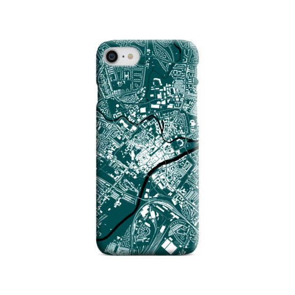 North Yorkshire England Map iPhone 8 Case