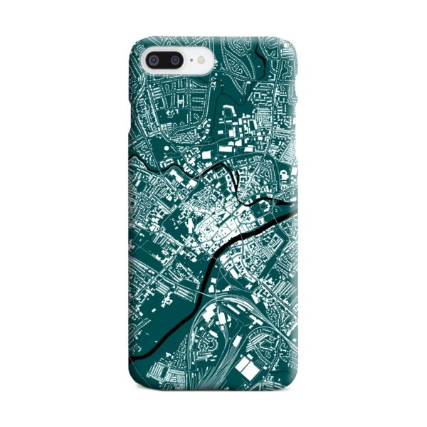 North Yorkshire England Map iPhone 8 Plus Case