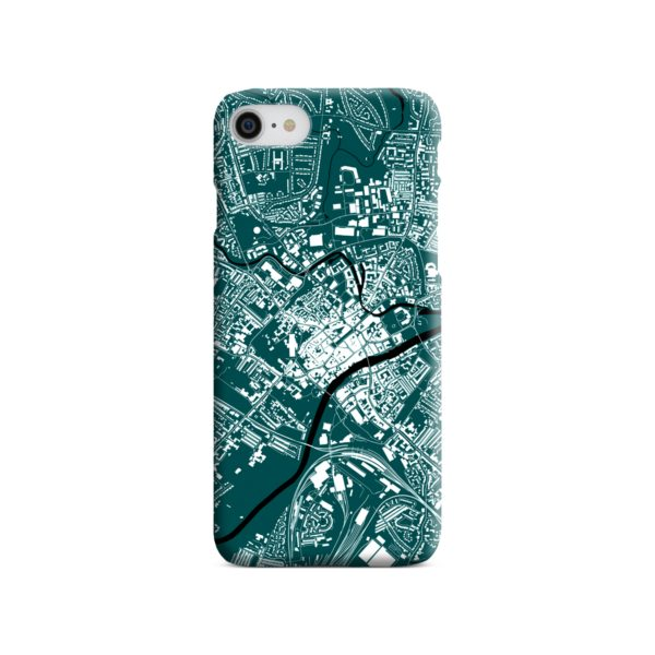 North Yorkshire England Map iPhone SE (2020) Case