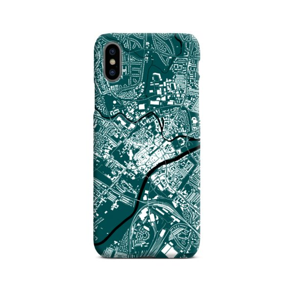 North Yorkshire England Map iPhone X / XS Case