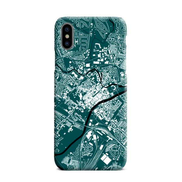 North Yorkshire England Map iPhone XS Max Case