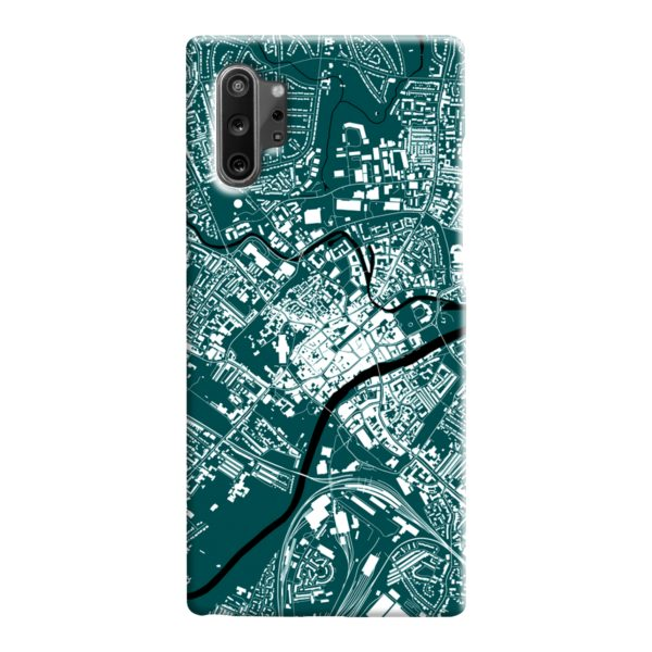 North Yorkshire England Map Samsung Galaxy Note 10 Case