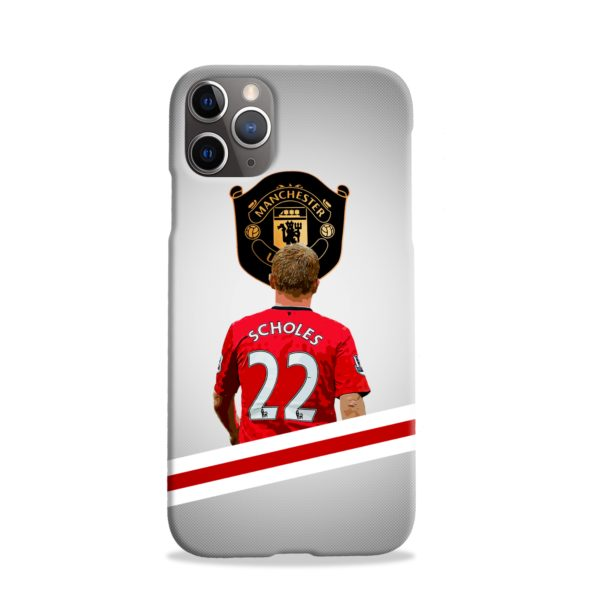 Paul Scholes MU FC iPhone 11 Pro Case