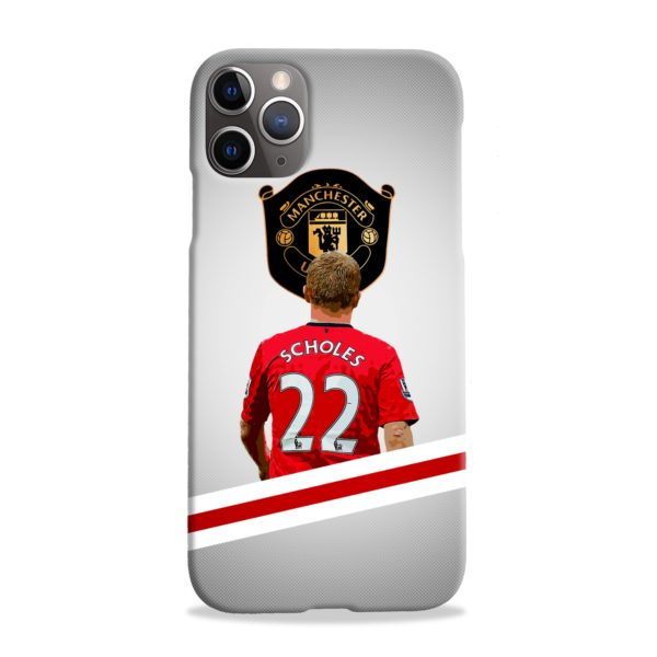 Paul Scholes MU FC iPhone 11 Pro Max Case