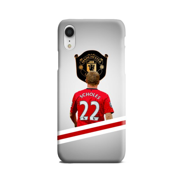 Paul Scholes MU FC iPhone XR Case