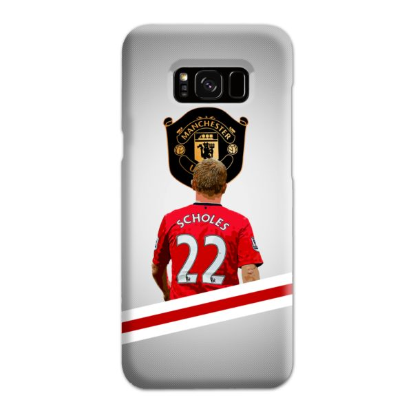 Paul Scholes MU FC Samsung Galaxy S8 Plus Case