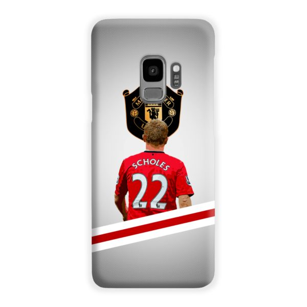 Paul Scholes MU FC Samsung Galaxy S9 Case