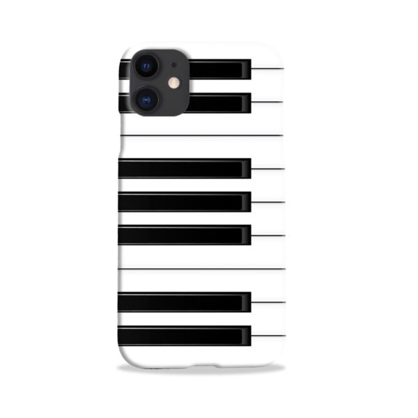 Piano Keys Musical Instruments iPhone 11 Case