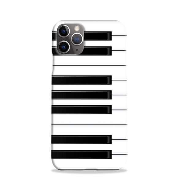 Piano Keys Musical Instruments iPhone 11 Pro Case