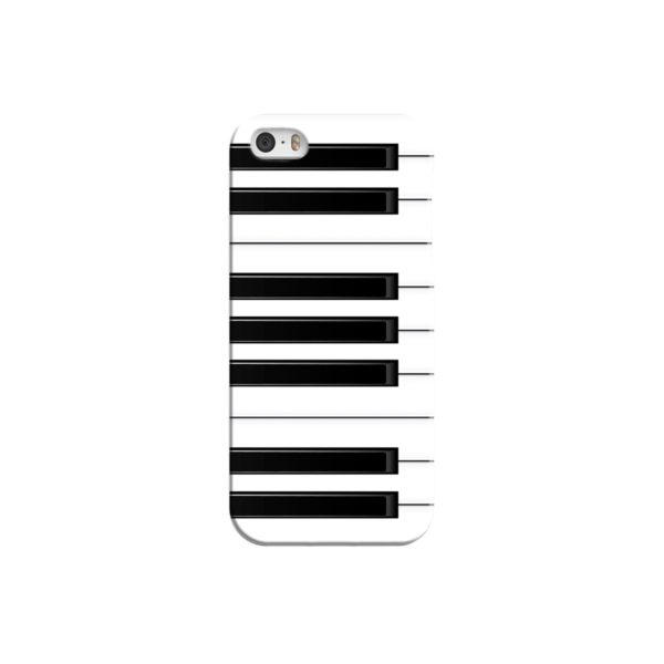 Piano Keys Musical Instruments iPhone 5 Case