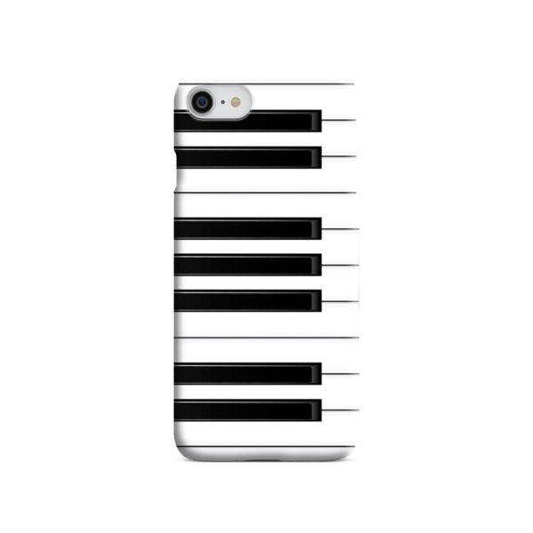 Piano Keys Musical Instruments iPhone 7 Case
