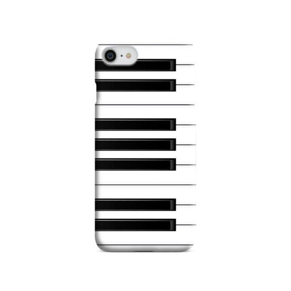 Piano Keys Musical Instruments iPhone 8 Case