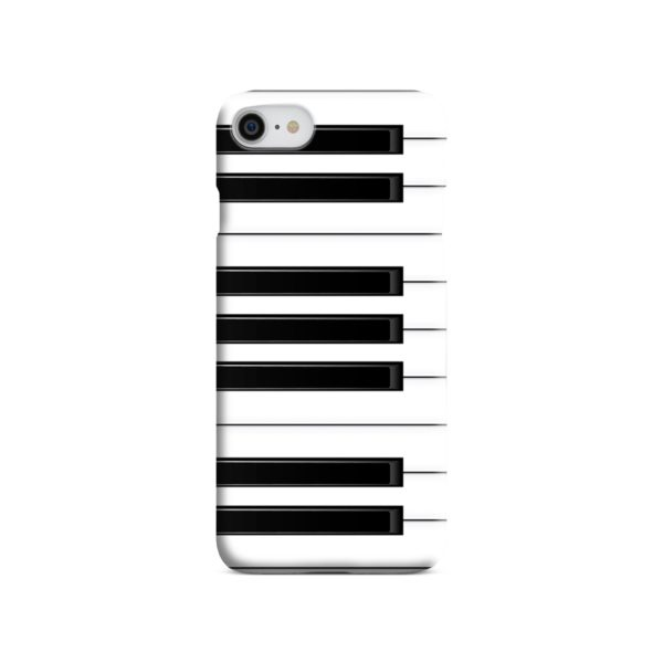 Piano Keys Musical Instruments iPhone SE (2020) Case
