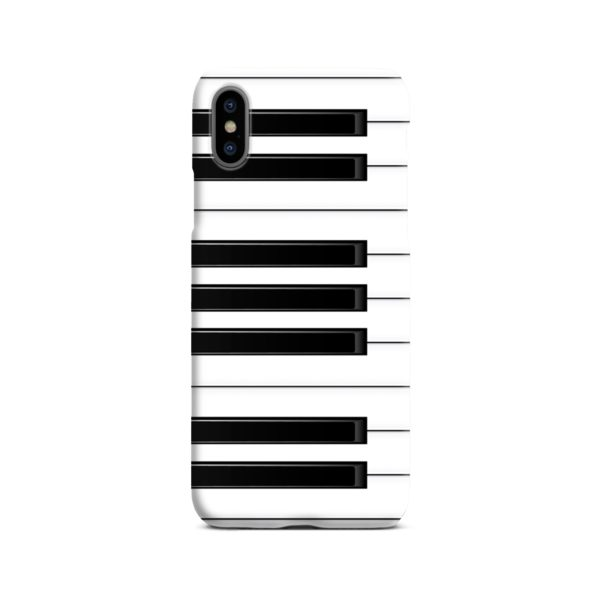 Piano Keys Musical Instruments iPhone X / XS Case