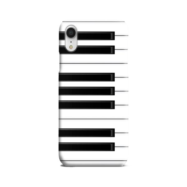 Piano Keys Musical Instruments iPhone XR Case