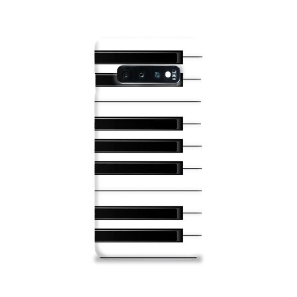 Piano Keys Musical Instruments Samsung Galaxy S10 Case