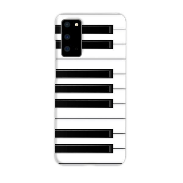 Piano Keys Musical Instruments Samsung Galaxy S20 Case