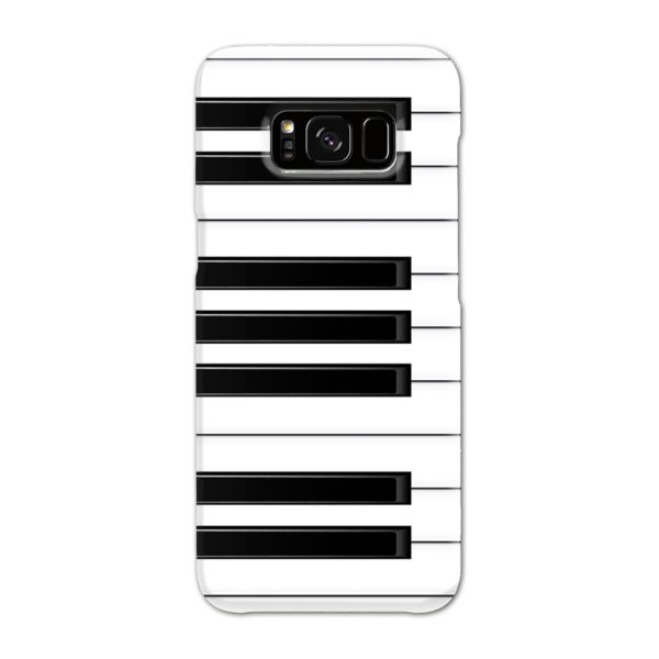 Piano Keys Musical Instruments Samsung Galaxy S8 Case