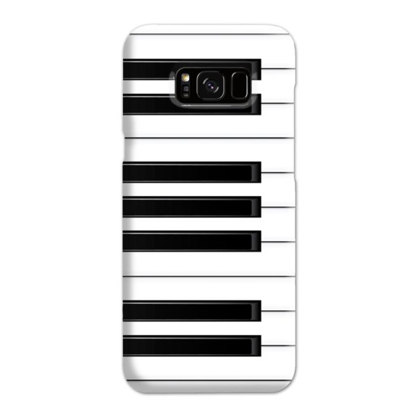 Piano Keys Musical Instruments Samsung Galaxy S8 Plus Case