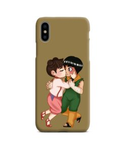 Rock Lee Chibi Anime Naruto for iPhone X / XS Case Cover