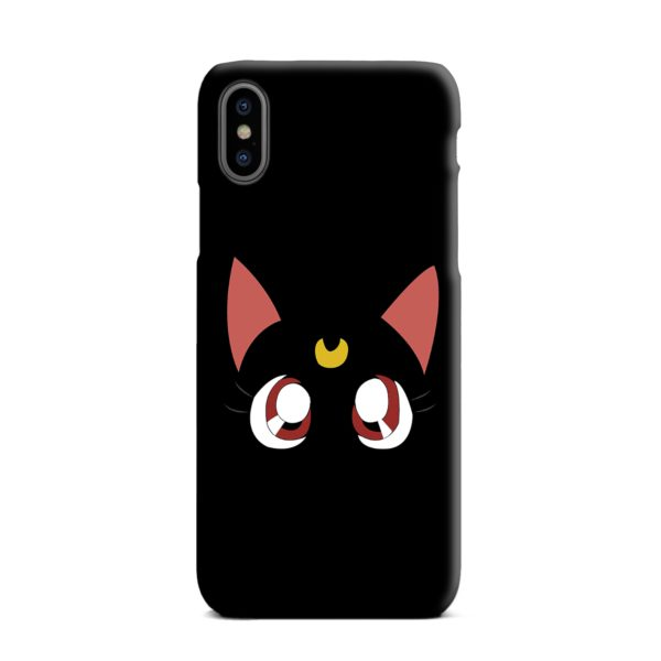 Sailor Moon Cat Luna iPhone XS Max Case