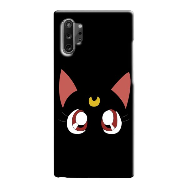 Sailor Moon Cat Luna Samsung Galaxy Note 10 Case