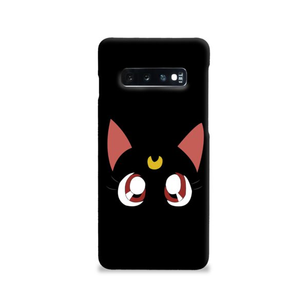 Sailor Moon Cat Luna Samsung Galaxy S10 Case