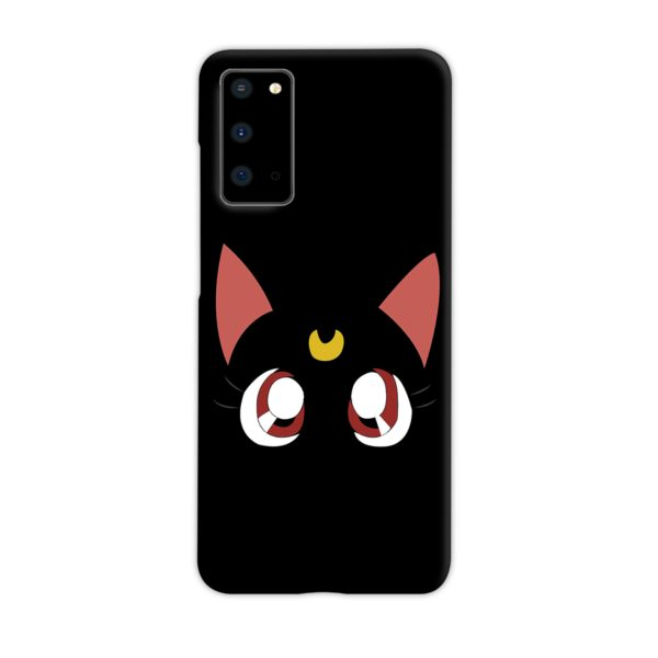 Sailor Moon Cat Luna Samsung Galaxy S20 Case